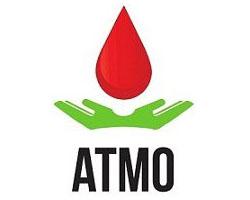Logotipo ATMO Amigos Do Transplante De Medula Óssea