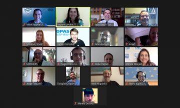 Imagem Da Reunião On-line Do Movimento TJCC,co-proponentes Da Carta Aberta E A Organização Organização Pan-Americana Da Saúde.