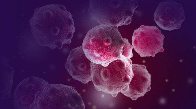 Imagem Ilustrativos De Células Tumorais Em Representação às Origens Do Câncer
