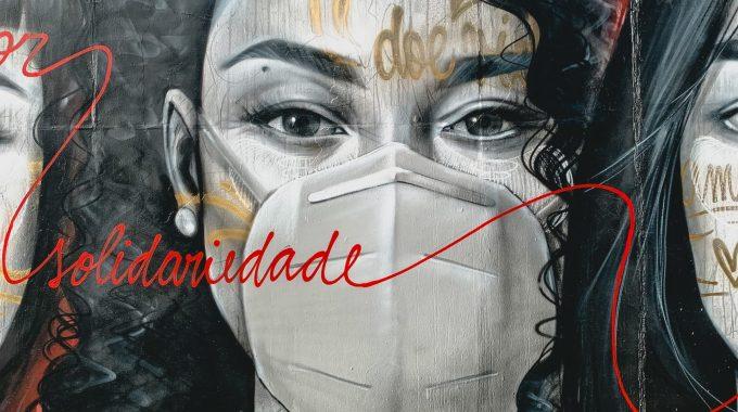 Imagem Do Grafite Da Campanha Abrale E Abrasta Para O Junho Vermelho
