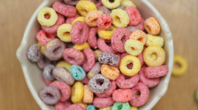 Imagem De Um Cereal Em Uma Tigela