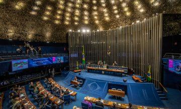 Imagem Do Plenário Do Congresso Nacional Brasileiro
